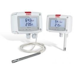 serie TH210-Capteur transmetteur T°C/HR%