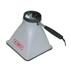 Cônes de mesure de débit d'air pour hélice