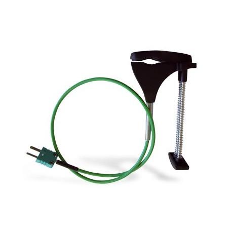 SKCT - Sonde tuyauteries Sonde thermocouple à contact lamelles et à ressort pour tuyauteries